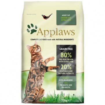 (4024) 2kg Applaws Cat - Chicken & Lamb 無穀物雞肉&羊配方成貓乾糧