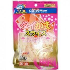 (81986) 25g CattyMan 鯛魚銀雪魚絲