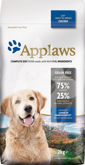(DD4520DL) 2kg Applaws Dog - Lite 無穀物減肥配方成犬乾糧