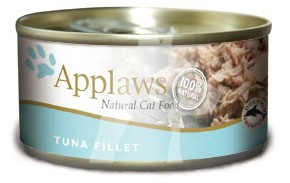 (2003) 156g Applaws Cat Tin - Tuna Fillet 成貓罐頭 - 吞拿魚