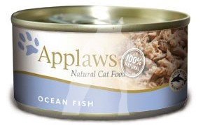 (2005) 156g Applaws Cat Tin - Ocean Fish  成貓罐頭 - 海魚
