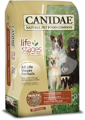 (1044) 44lb Canidae Dog Life stages  -  原味配方