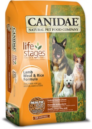 (1215) 15lb Canidae Dog Life stages  -  羊米配方