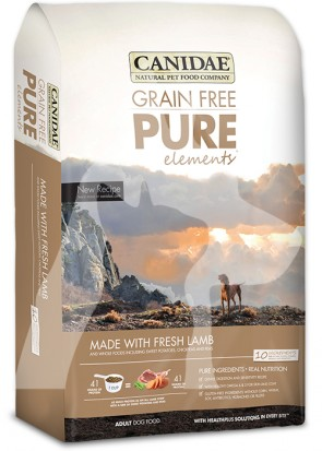 (1572) 4lb Canidae Dog Pure - GF Elements 原味無穀物