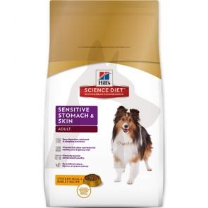 (10115) 4lb Hill's 皮膚敏感配方 - 成犬乾糧