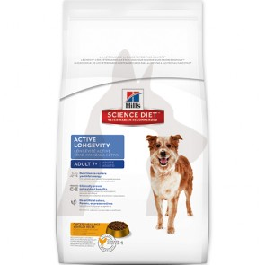(10337HG) 4kg Hill's 活力長壽配方 - 高齡犬乾糧
