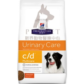 (10104) 17.6lbs Hill's Prescription Diet - c/d Multicare (Urinary Care ) Canine Dry Food