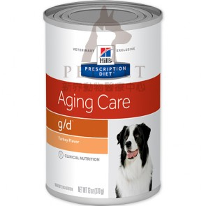 (7006)13oz x 12can Hill's Prescription Diet - g/d Aging Care Canine Canned Food