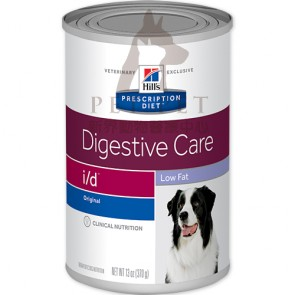 (1863) 13oz x 12can Hill's Prescription Diet - i/d Low Fat Digestive Care Canine Canned Food