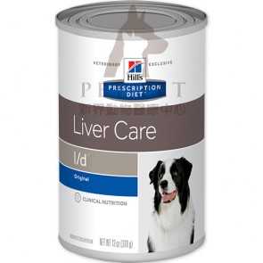 (7011) 13oz x 12can Hill's Prescription Diet - l/d Liver Care Canine Canned Food