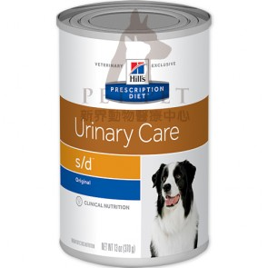 (7015) 13oz x 12can Hill's Prescription Diet - s/d Urinary Care Canine Canned Food