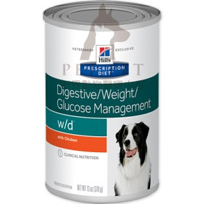 (7017) 13oz x 12can Hill's Prescription Diet - w/d Digestive / Weight / Glucose Management Canine Canned Food