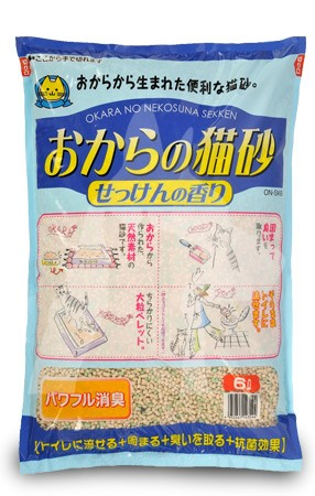 6L Hitachi 香皂味豆腐渣貓砂
