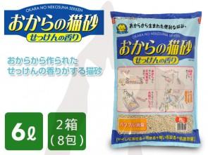 6L x 8包 Hitachi 香皂味豆腐渣貓砂