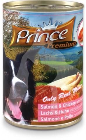 (PD8.3) 400g Prince 食療狗濕糧 - 三文魚&雞肉