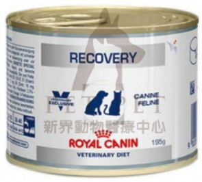 (1204700) 195g x 12can Royal Canin - Vet Recovery Diet Can