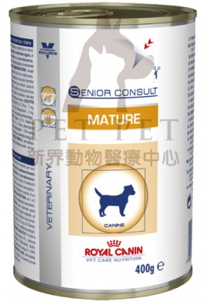 (1649000) 400g x 12pcs Royal Canin - Vet Mature Dog (Wet)