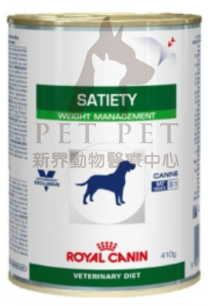 (2078600) 410g x 12can Royal Canin SAT30 - Vet Canin Satiety Support (Weight Management)
