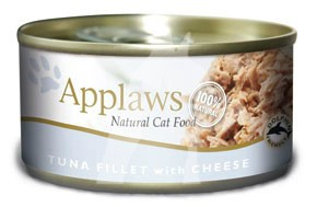 (2007) 156g Applaws Cat Tin - Tuna,Cheese  成貓罐頭 - 吞拿魚&芝士