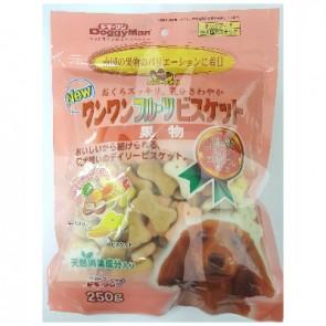 (81326) 250g Doggyman 雜果味夾心骨型餅