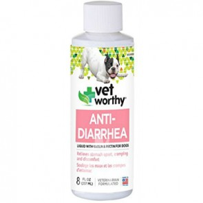 (0083) 8oz Vet Worthy Dog Anti-Diarrhea Liaquid (狗用)止腹瀉液