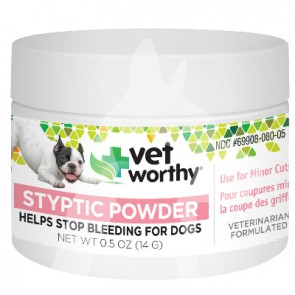 (0080) 0.5oz Vet Worthy Dog Styptic Powder (狗用)止血粉