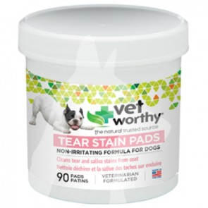 (41074) 90ct Vet Worthy Dog Tear Stain Pads (狗用)淚痕清潔墊