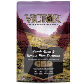 (2114) 5lb Victor Lamb & Brown Rice 羊飯強化腸胃乾糧