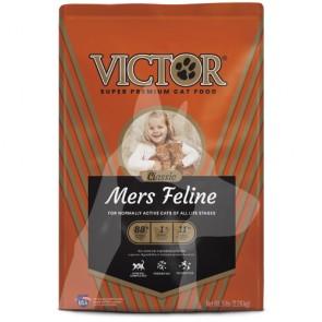 (5283) 15lb Victor Mers Classic 全貓期原味乾糧